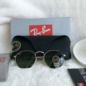 ROUND CLASSIC G-15 RAY-BAN AVIATOR 100% AUTHENTIC